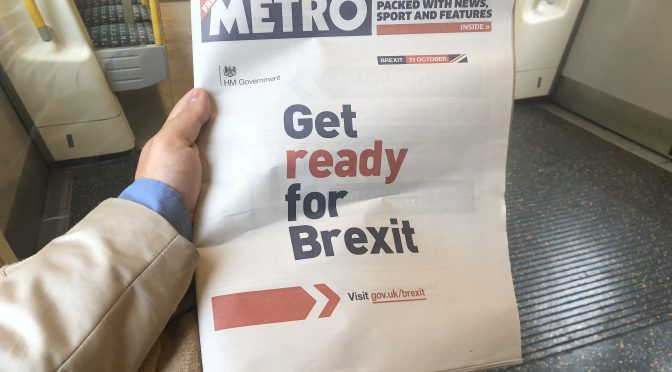 Metro: Get Ready For Brexit